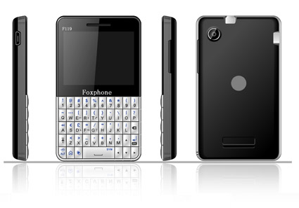 F119 qwerty cellular phone