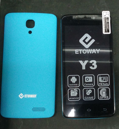 ETOWAY Y3 android phone